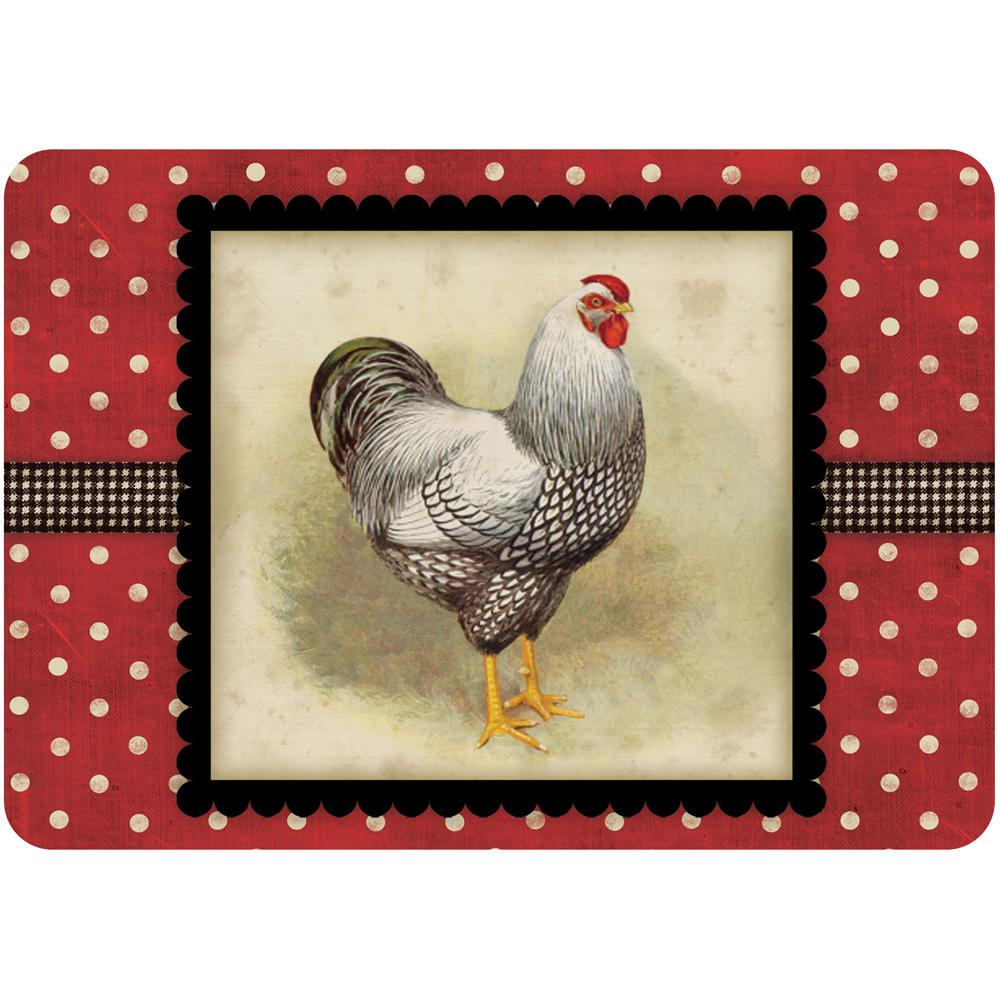 Comfort Kitchen Mat Rooster In Floor Mats