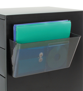 Deflecto Magnetic File Pocket In Magnetic Office Organizers