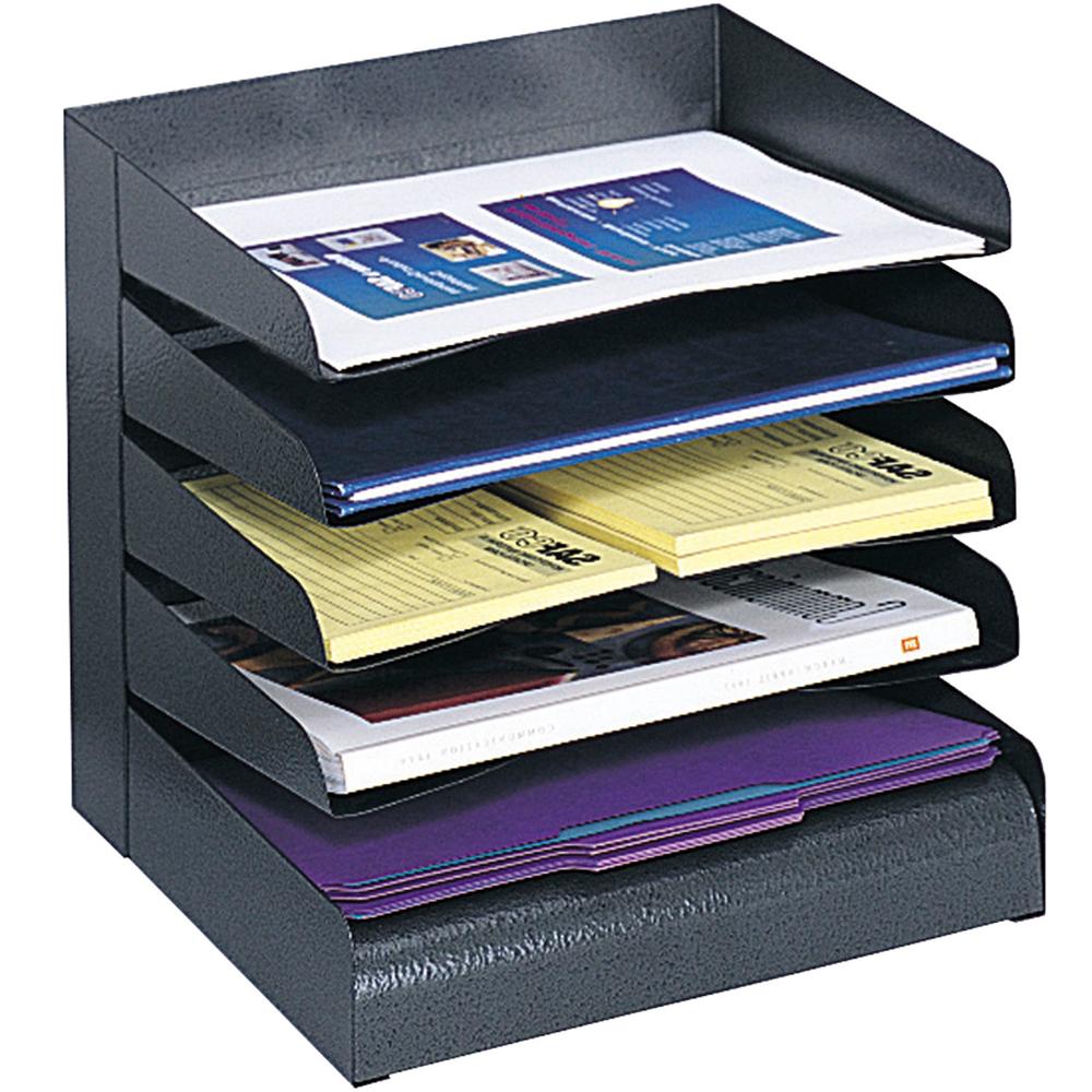 Desktop paper organizer in file and mail organizers - Desk drawer paper organizer ...
