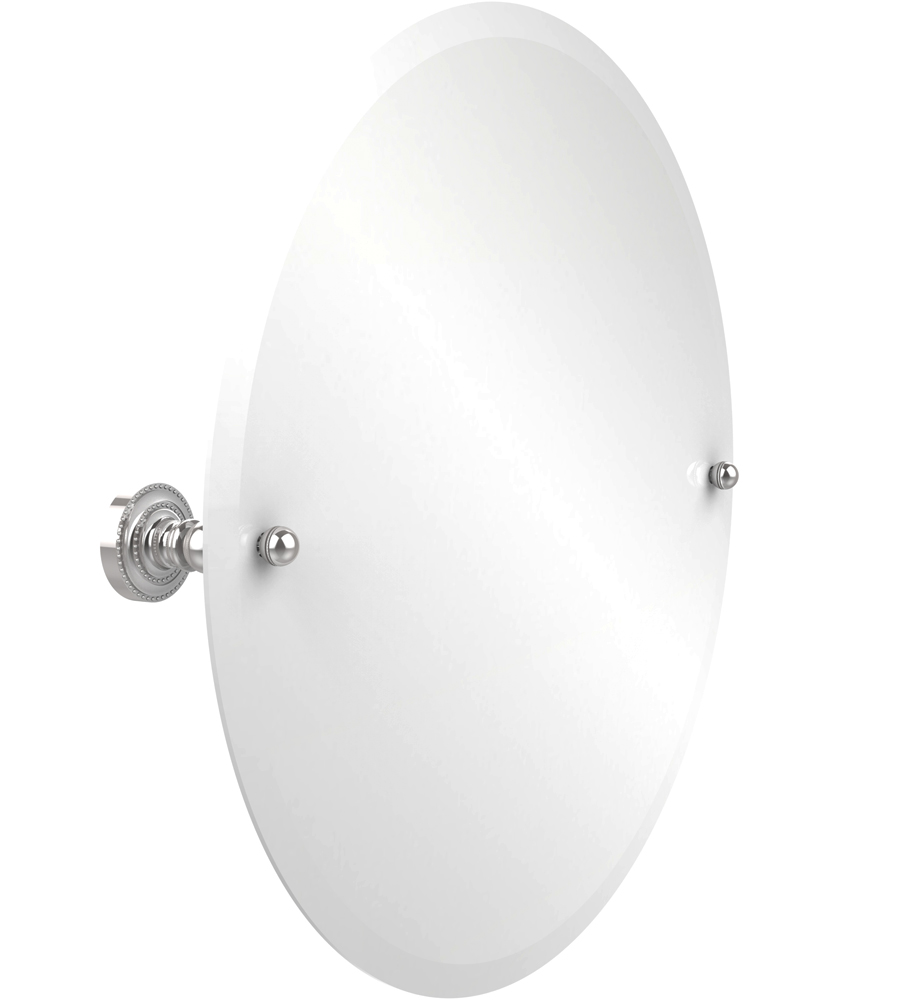 Dottingham round bath wall mirror in vanity mirrors Polished chrome bathroom mirrors