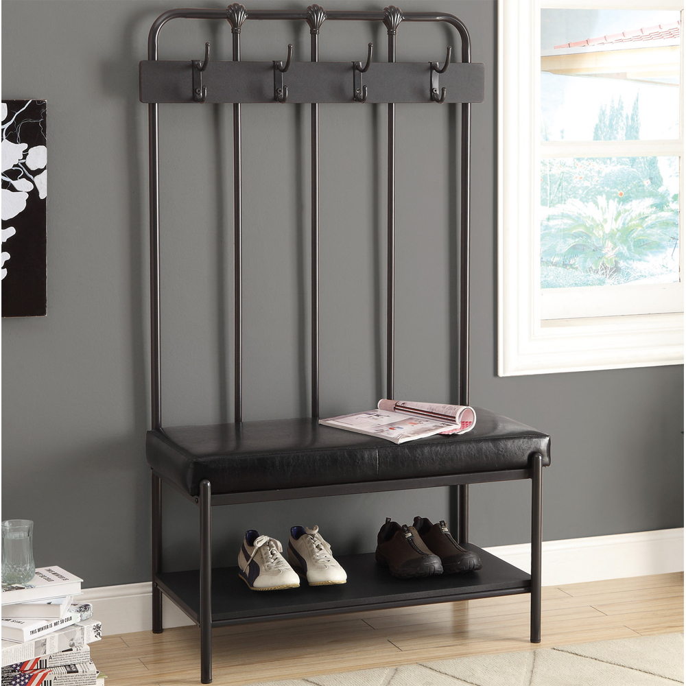Guide To Get Entry Bench Coat Rack Plans From Nature