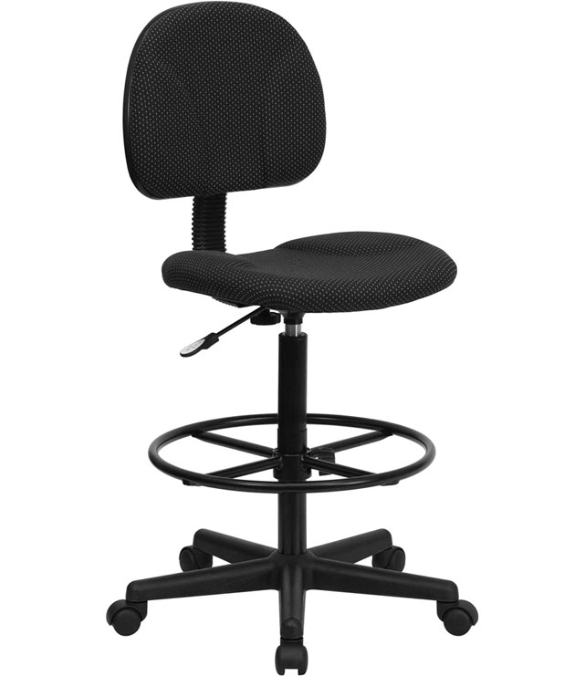 Ergonomic Drafting Stool Image. Click Any Image To View In High Resolution