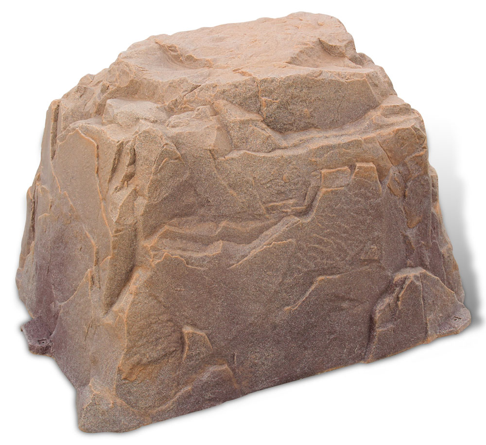 Faux Landscaping Rock Utility Box Covers : Fake rock extra large in rocks