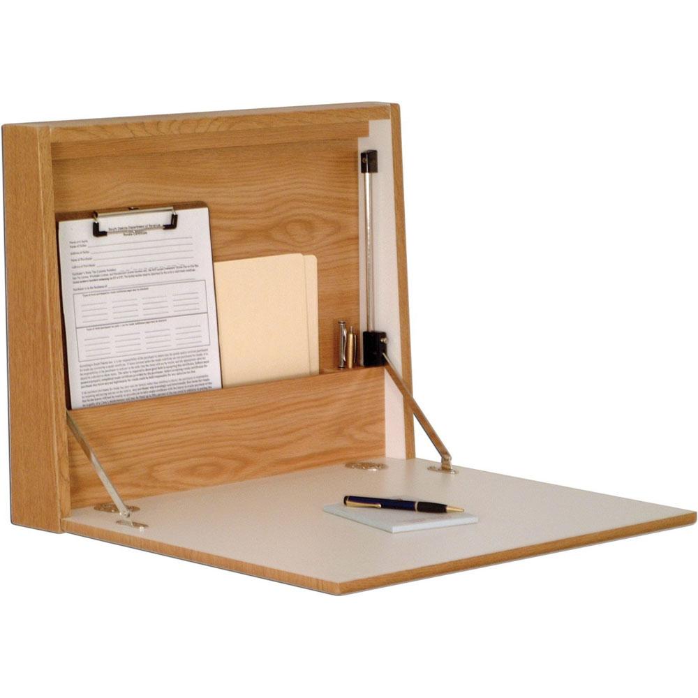 Flip Down Desk Oak in Desks and Hutches