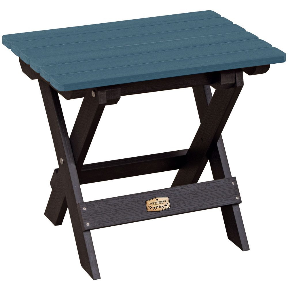 folding side table in patio side tables