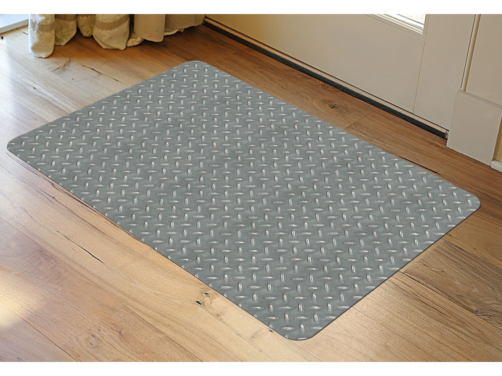 Garage Mat Diamond Steel Pattern In Garage Floor Protection