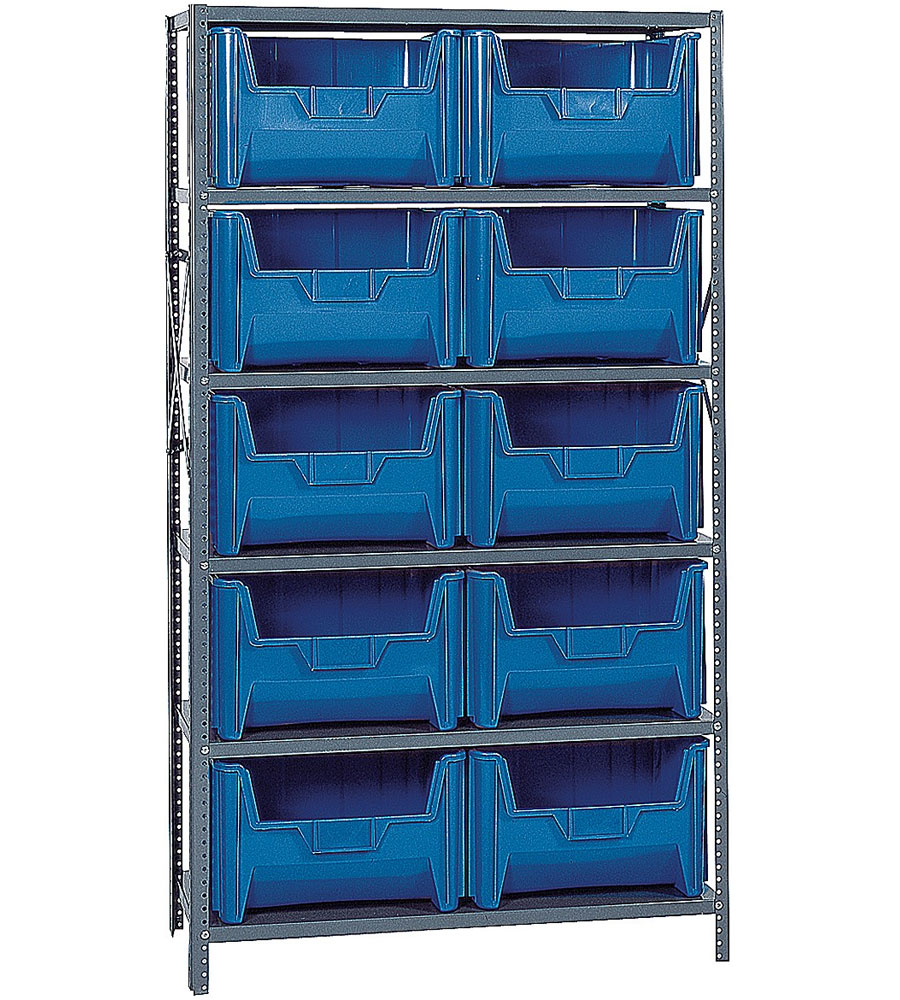 Giant Bin Storage System in Plastic Storage Bins