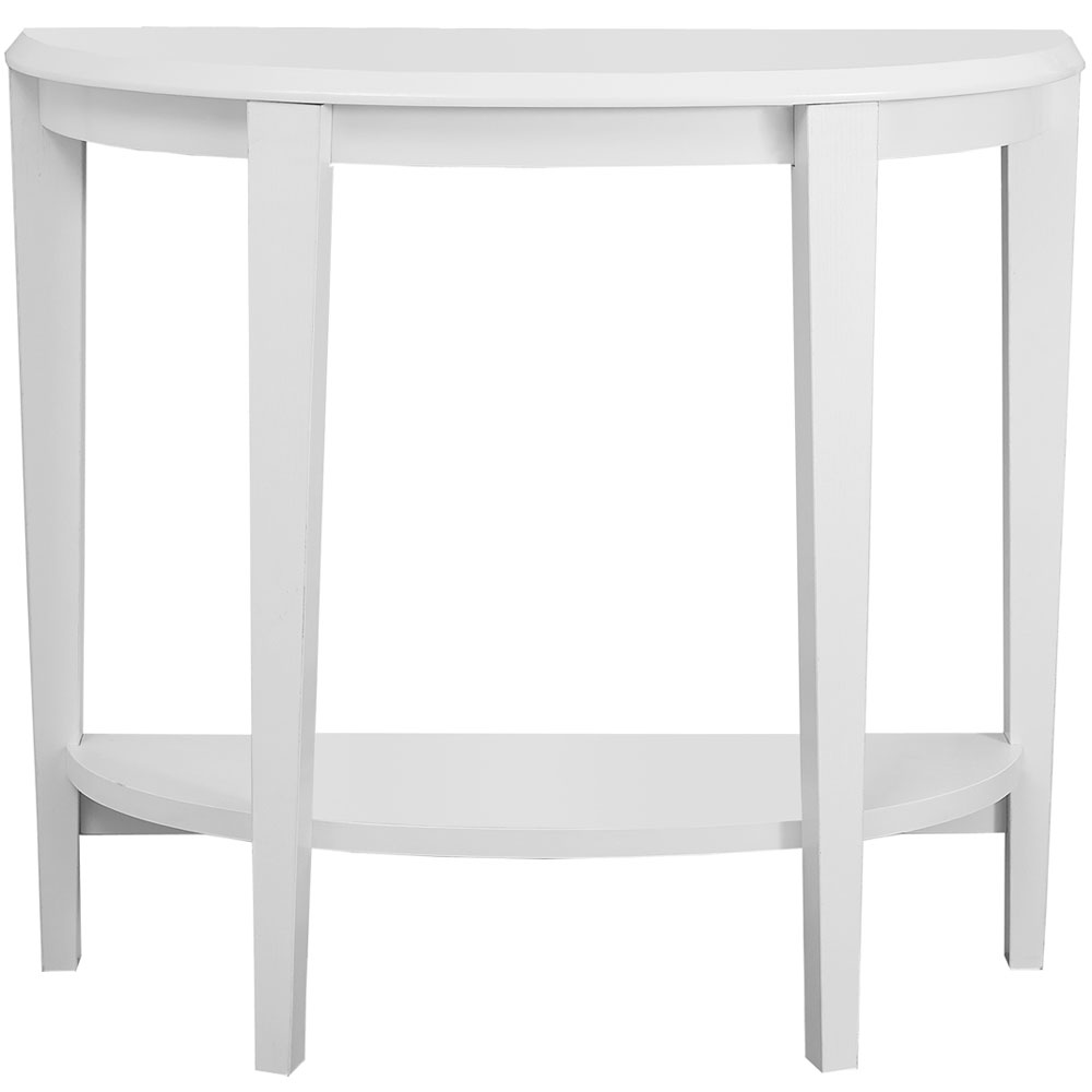 Half Moon Accent Table In Accent Tables