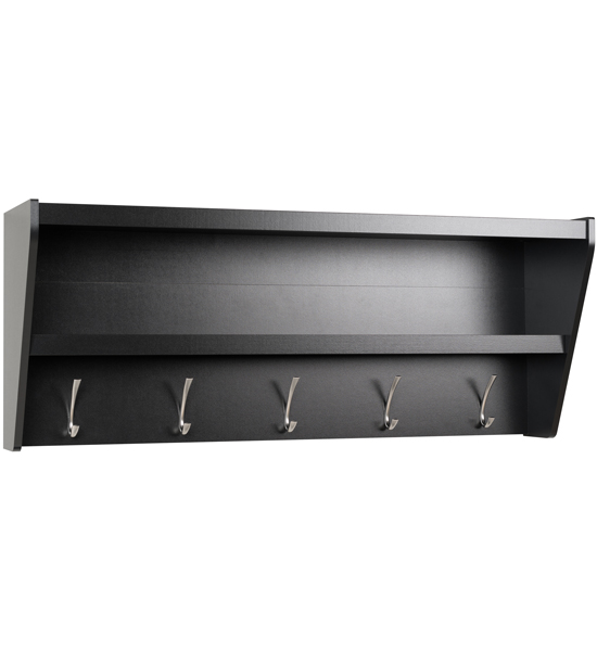 entryway shelf with hooks in entryway storage. Black Bedroom Furniture Sets. Home Design Ideas