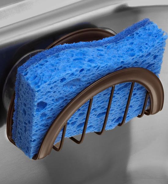 Kitchen Sink Sponge Holder: Kitchen Sink Sponge Holder In Sink Organizers