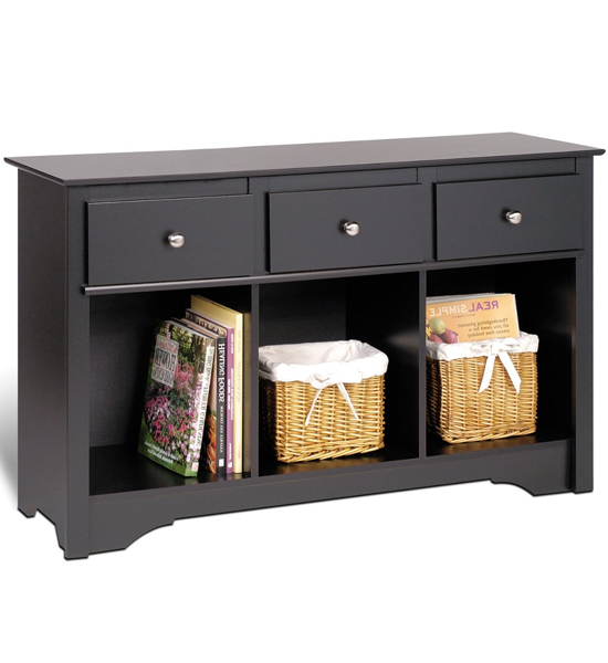 living room console in accent tables