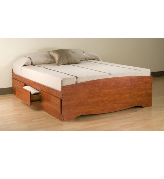Queen Platform Storage Bed In Beds And Headboards
