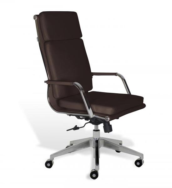 Soft Padded High Back Desk Chair In Office Chairs
