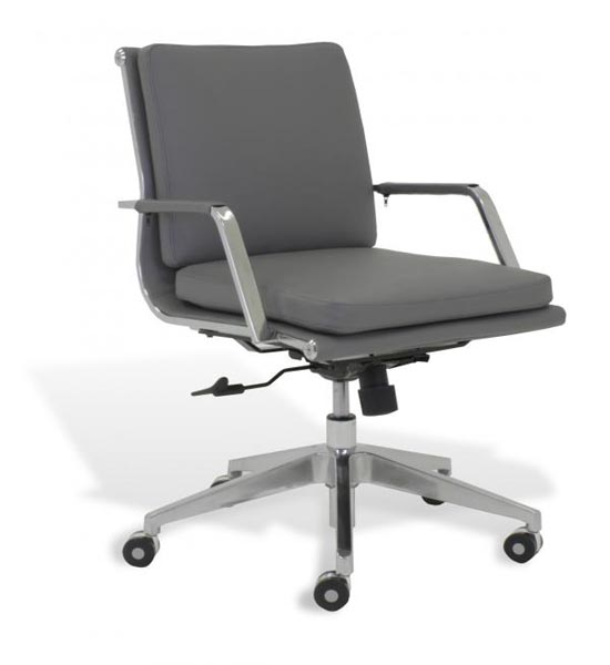 Soft Padded Low Back Desk Chair In Office Chairs