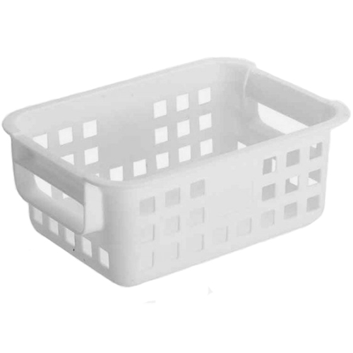 Great Iris Plastic Mesh Storage Baskets   White Image. Click Any Image To View In  High Resolution