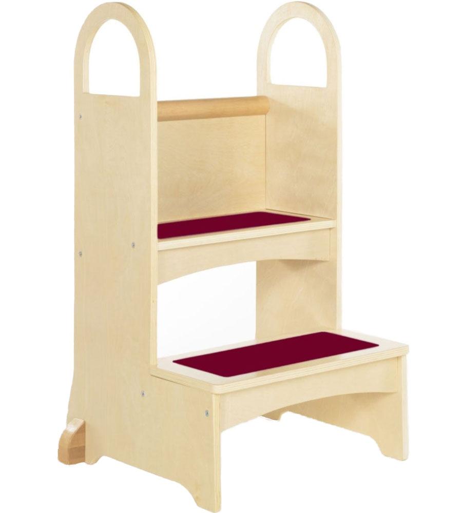 kids kitchen step stool in kids step stools. Black Bedroom Furniture Sets. Home Design Ideas