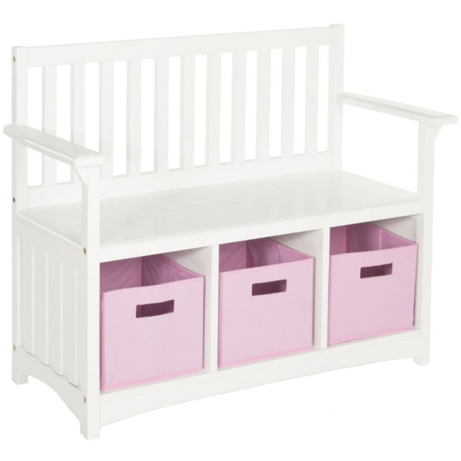 Kids Storage Bench In Kids Furniture