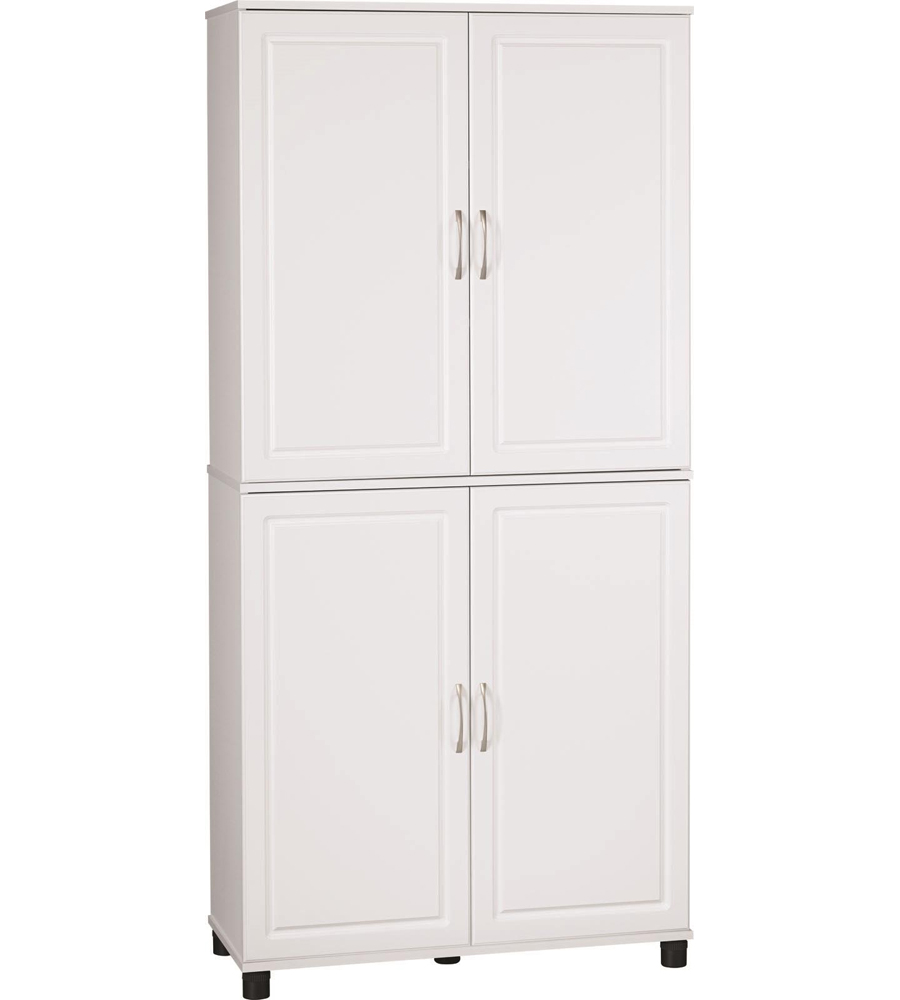 Kitchen storage cabinet 36 inch in pantry shelving for Kitchen cabinet shelves