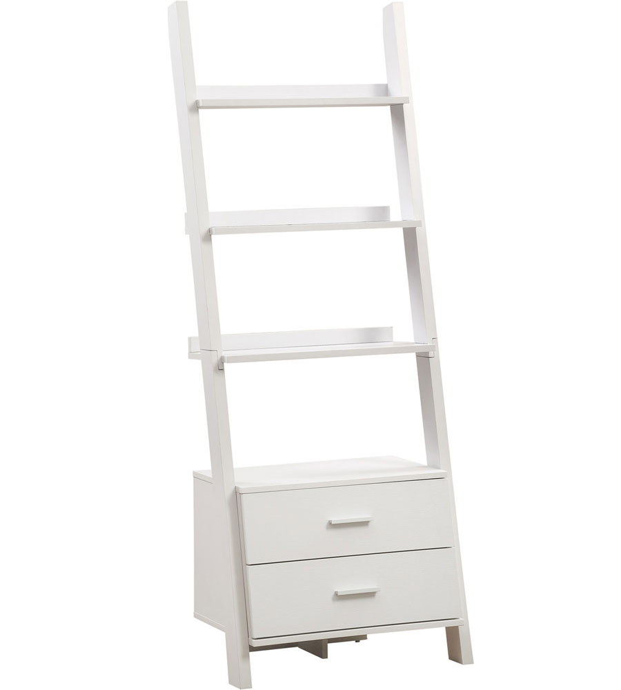 Ladder Bookcase With Storage Drawers Image Click Any To View In High Resolution