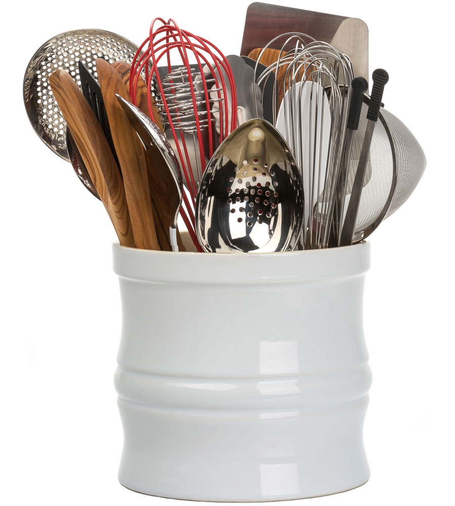 Large Utensil Crock Image. Click Any Image To View In High Resolution
