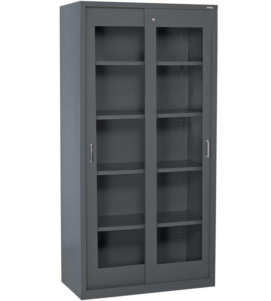 Locking Storage Cabinet In Pantry Shelving