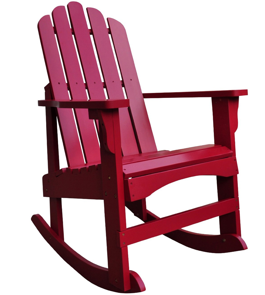 Marina Adirondack Rocking Chair In Adirondack Chairs