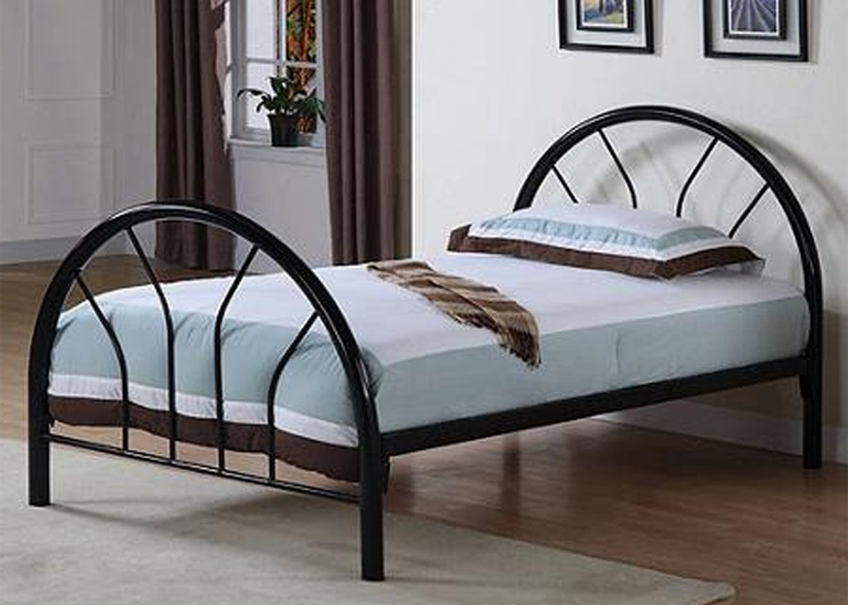 metal bed frame twin in beds and headboards. Black Bedroom Furniture Sets. Home Design Ideas