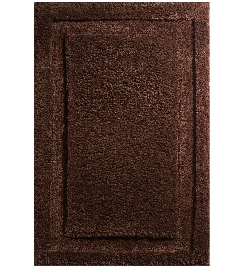 Chocolate brown bathroom rugs rugs ideas for Chocolate brown bathroom rugs