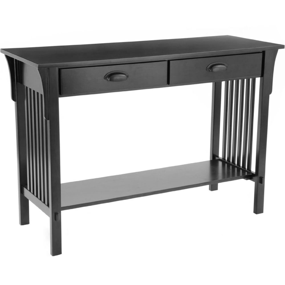 Mission style sofa table in accent tables geotapseo Gallery