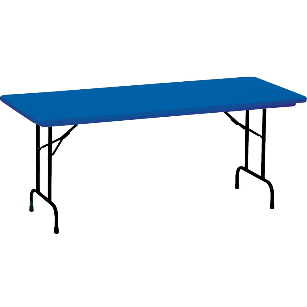 multi purpose folding table 30 x 72 inch in folding tables. Black Bedroom Furniture Sets. Home Design Ideas