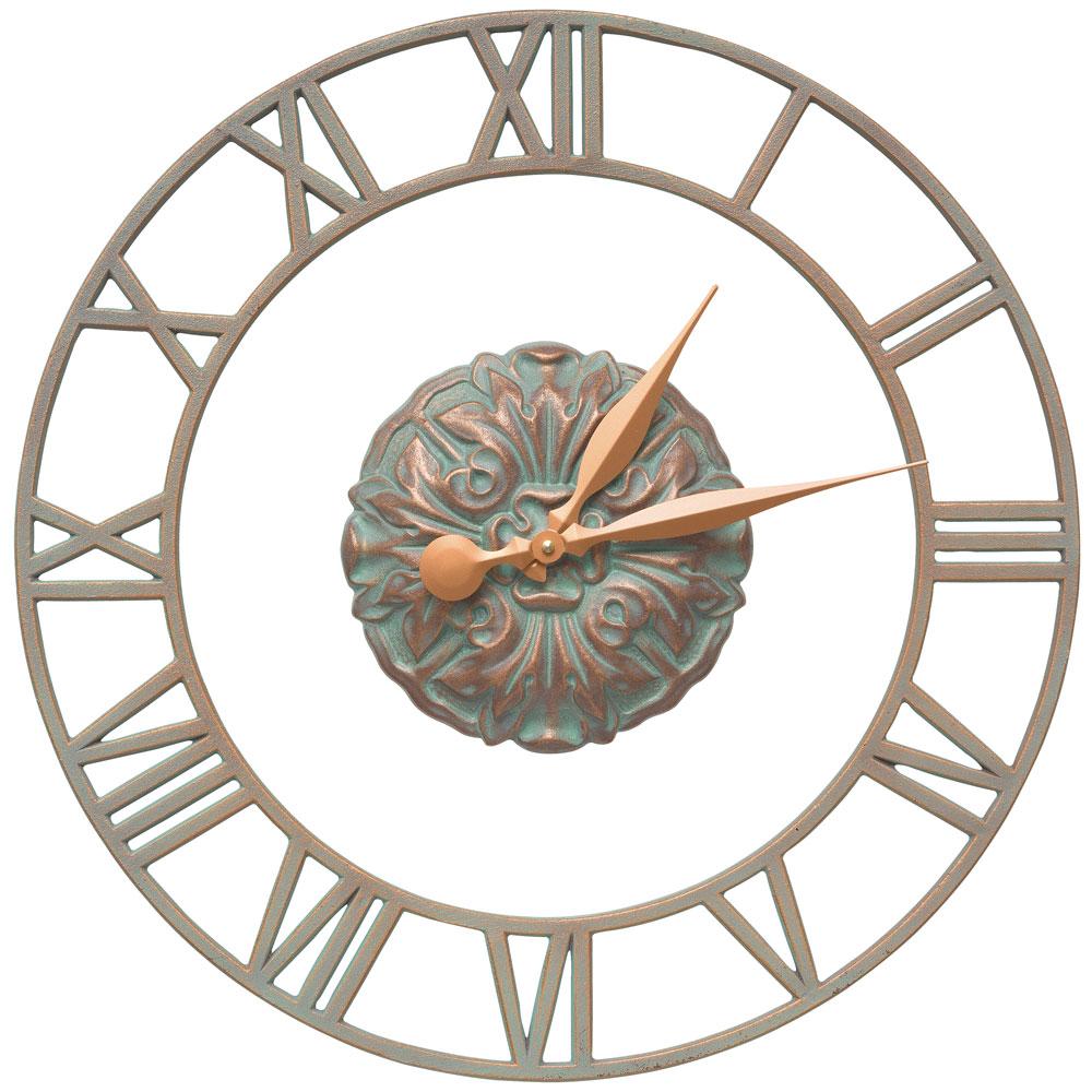 outdoor wall clock cambridge in outdoor clocks