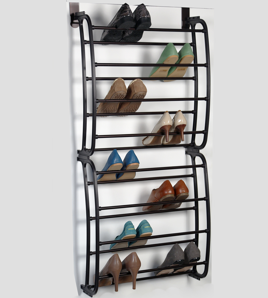 Over The Door Shoe Rack   Bronze Image. Click Any Image To View In High  Resolution