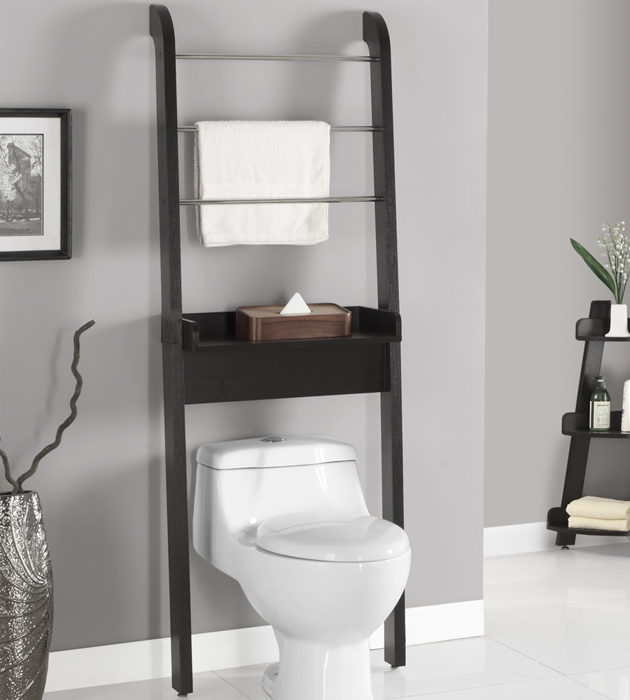over the toilet storage unit in over the toilet shelving. Black Bedroom Furniture Sets. Home Design Ideas