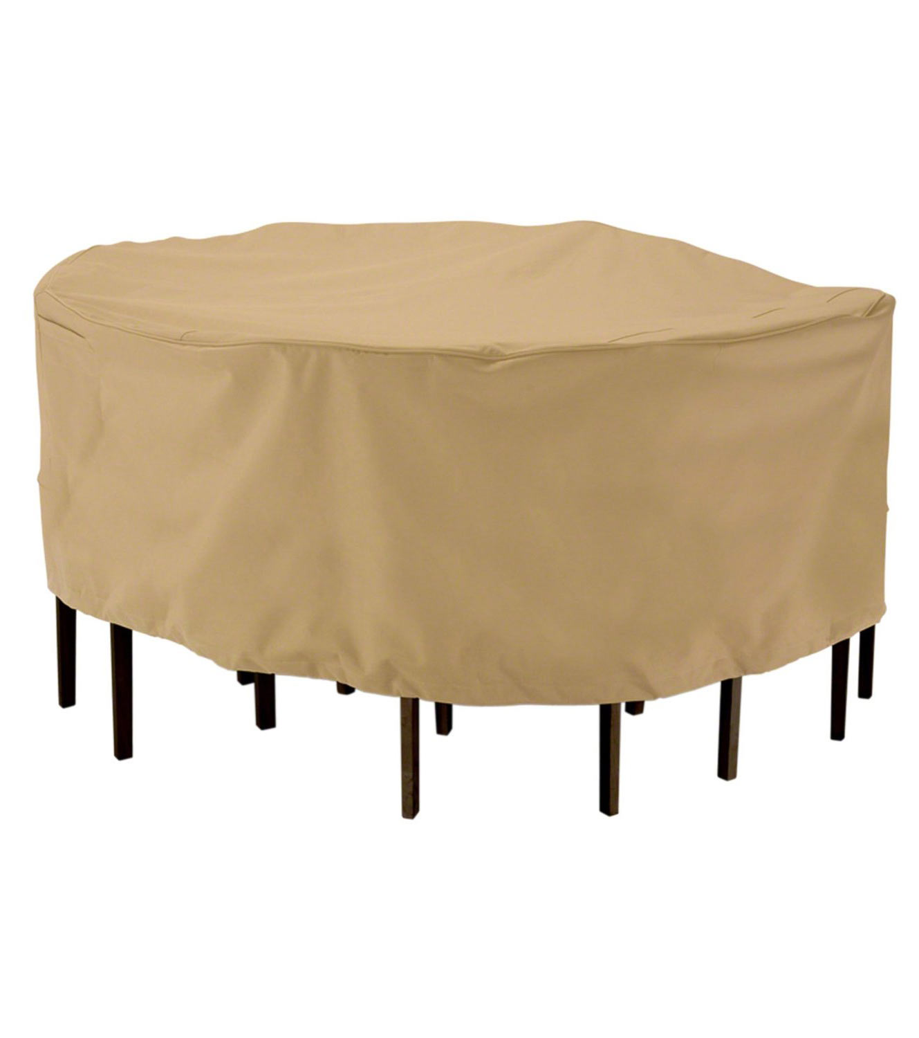patio furniture cover round table in patio furniture covers. Black Bedroom Furniture Sets. Home Design Ideas