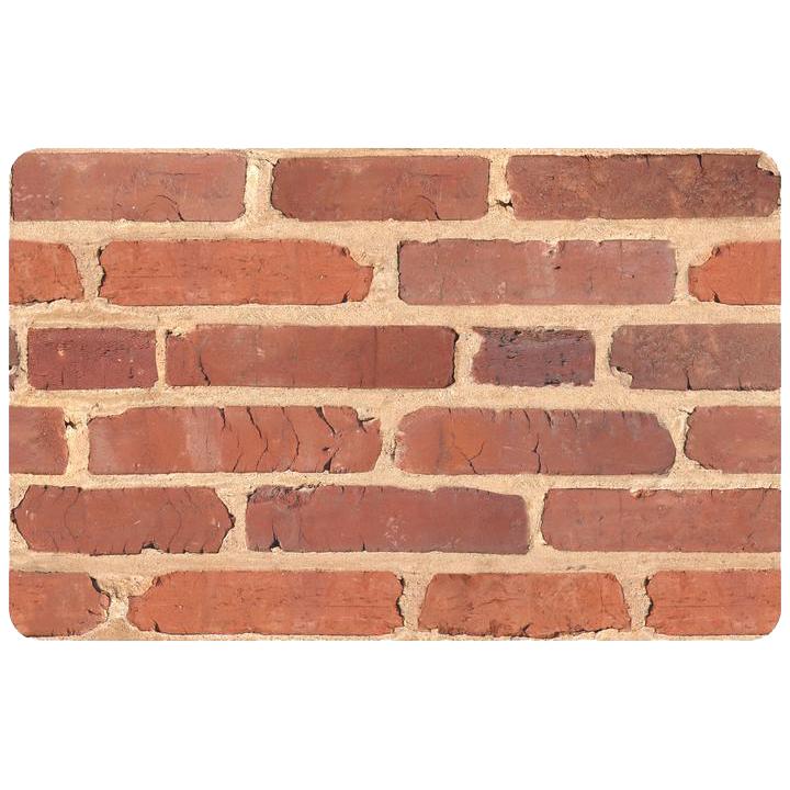 Brick Red Rag Rug: Red Brick In Patterned Rugs