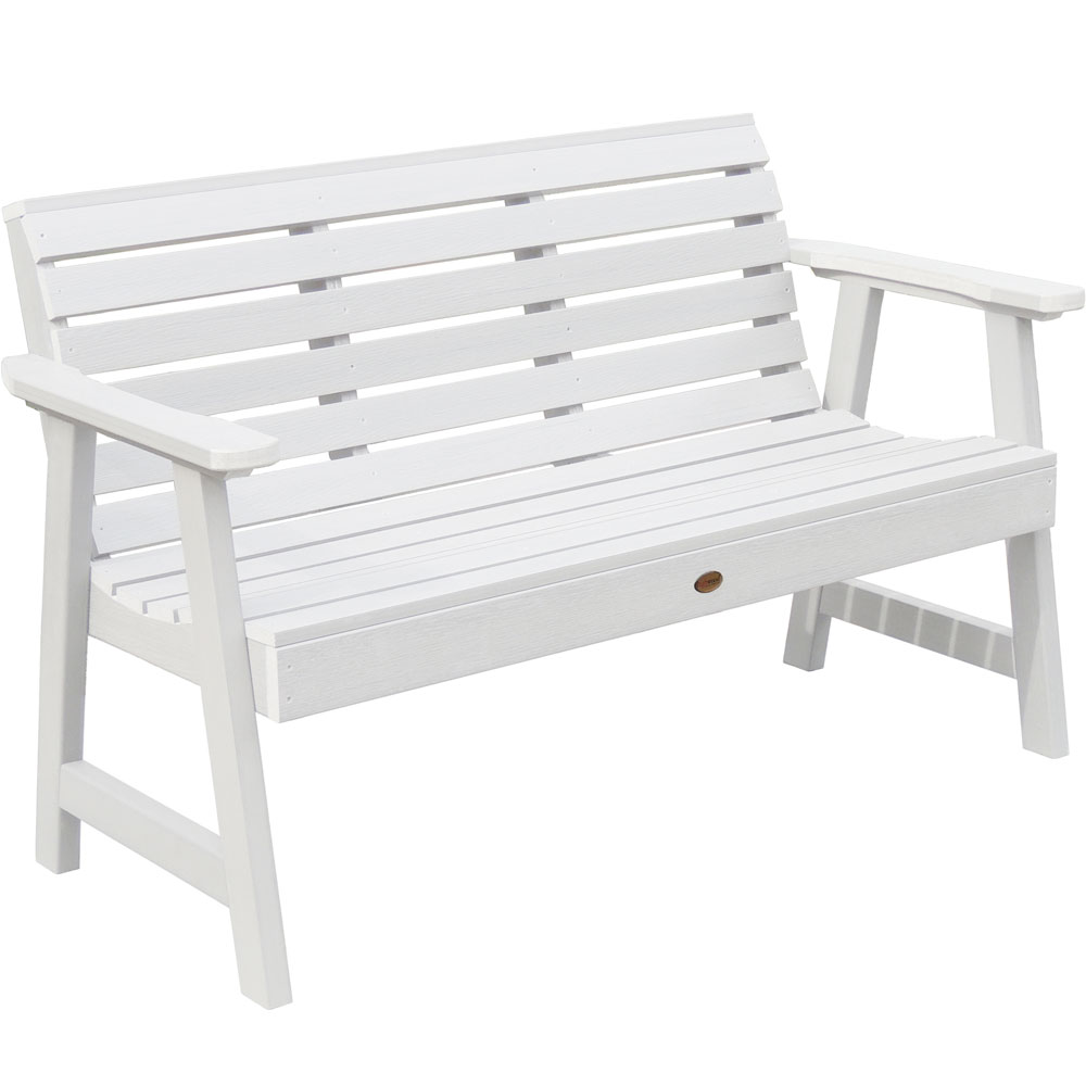 Synthetic Wood Outdoor Bench In Outdoor Benches