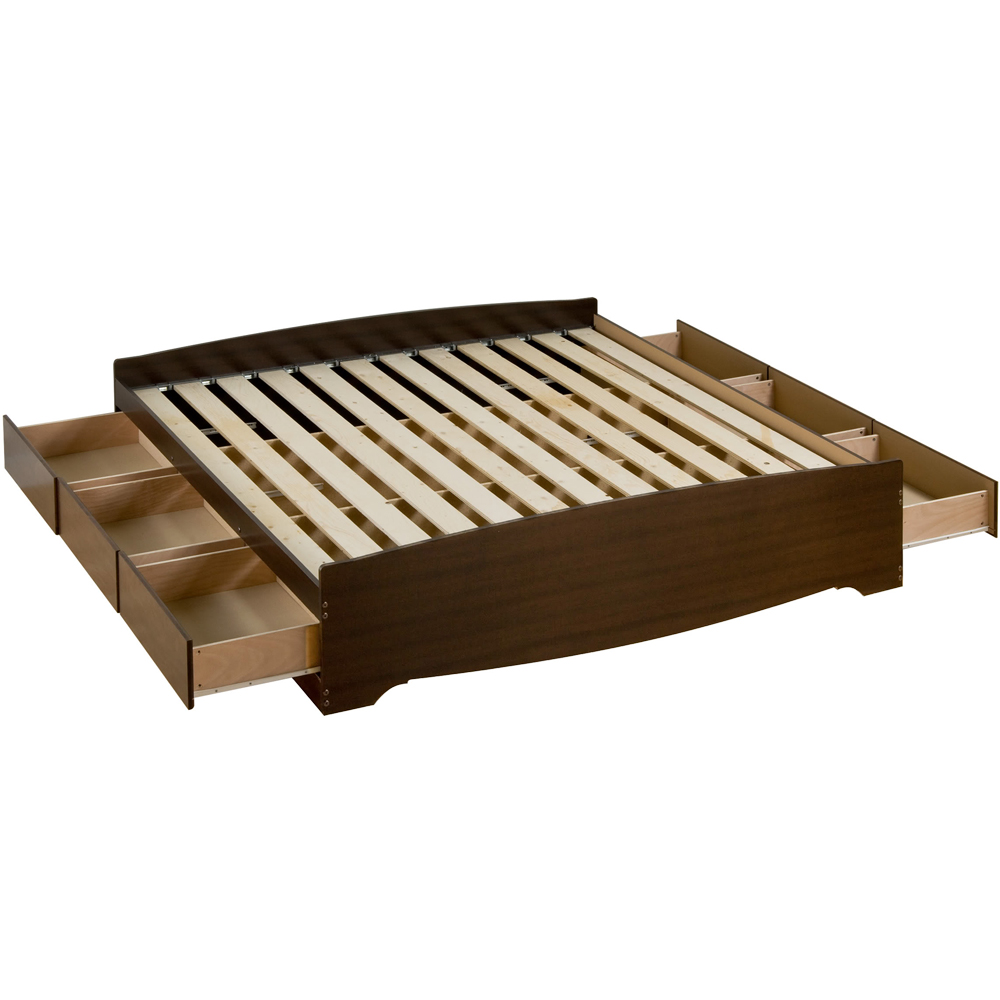 Platform Storage Bed King Sized In Beds And Headboards