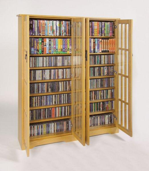 multimedia cabinet by leslie dame in media storage cabinets. Black Bedroom Furniture Sets. Home Design Ideas
