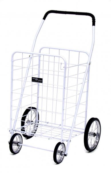 Portable Shopping Cart Jumbo A In Collapsible Shopping Carts