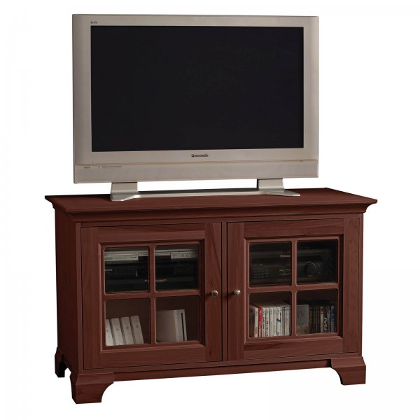 s elaine 50 inch wide quarter pane television console by stacks and stacks by howard miller in. Black Bedroom Furniture Sets. Home Design Ideas