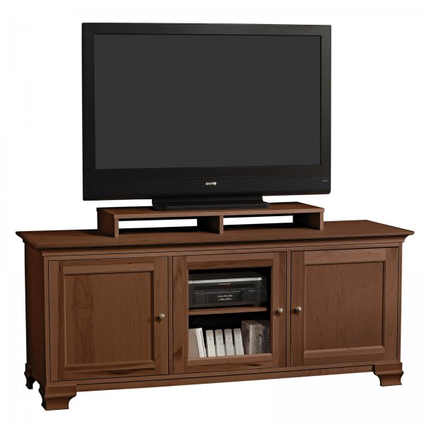 s jake 70 inch wide three door flat screen television console with shelf by stacks and stacks. Black Bedroom Furniture Sets. Home Design Ideas