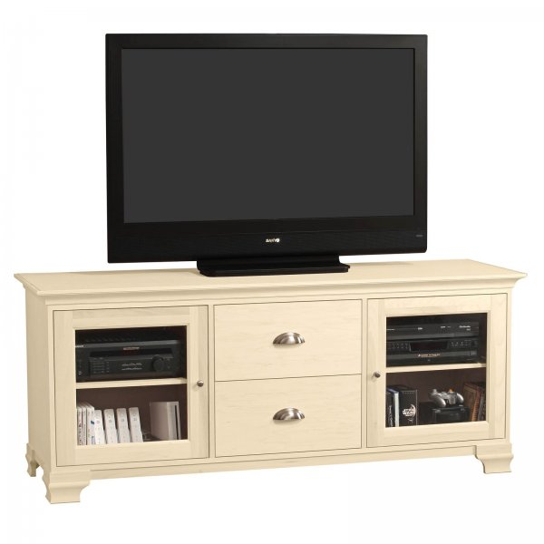 s jake 70 inch wide two drawer flat screen television console by stacks and stacks by howard. Black Bedroom Furniture Sets. Home Design Ideas