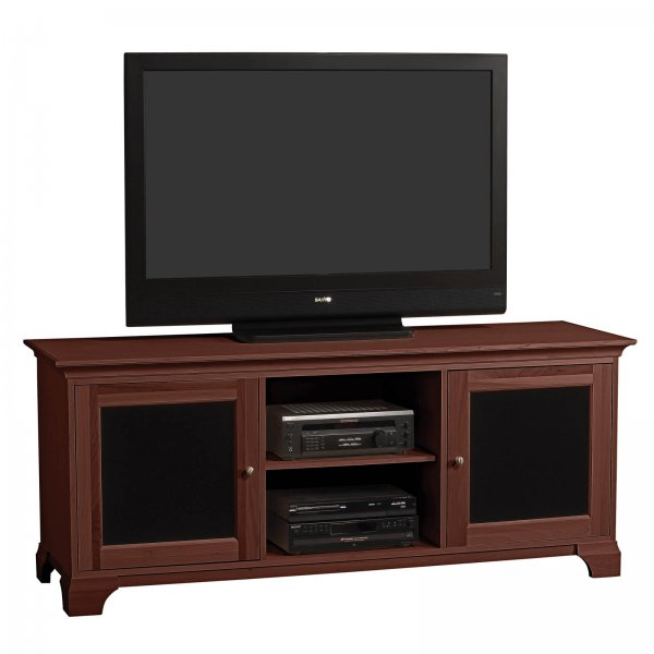 S Jake 70 Inch Wide Two Tone Door Flat Screen Television
