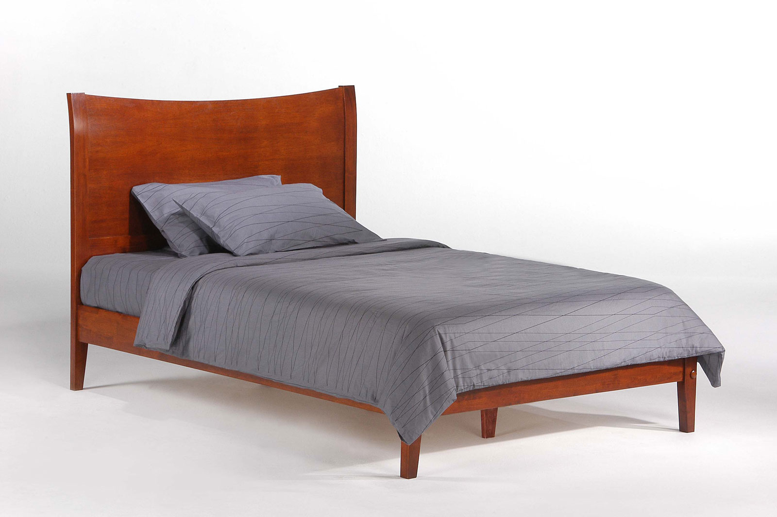 eastern king black pepper platform bed by and day furniture in beds and headboards