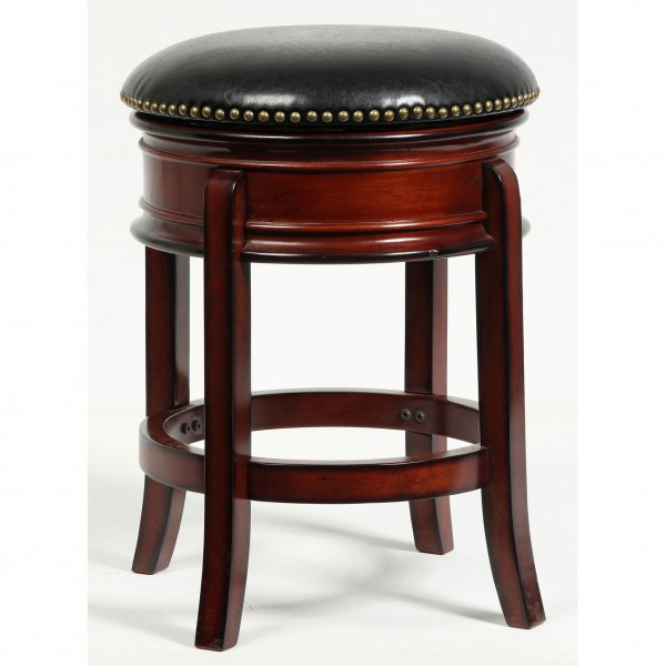 Hamilton 24 Inch Swivel Stool By Boraam Industries In Wood