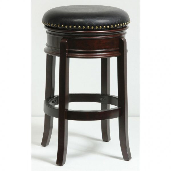 Hamilton 29 Inch Swivel Stool By Boraam Industries In Wood
