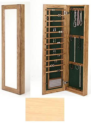 Large Wall Mounted Jewelry Cabinet   No Lock Image. Click Any Image To View  In High Resolution
