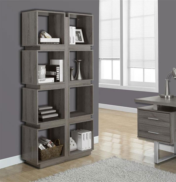 Click any image to view in high resolution - Bookshelves as room divider ...