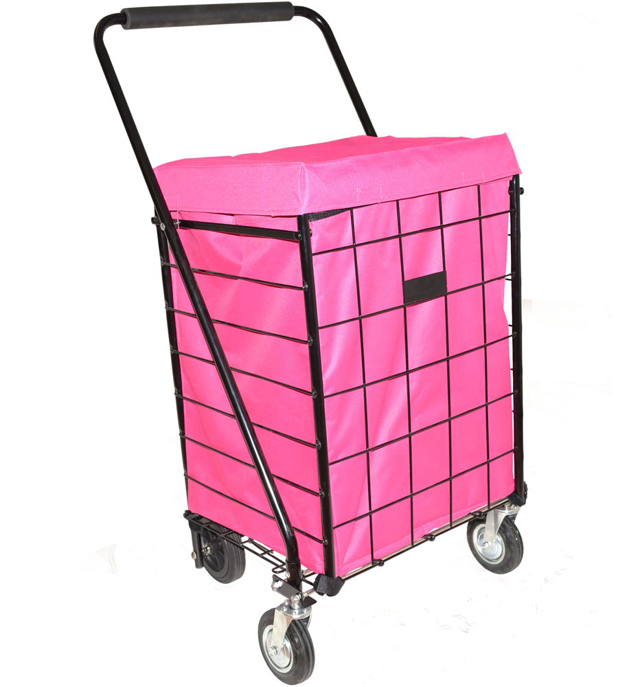 Shopping Cart Liner - Deluxe in Collapsible Shopping Carts