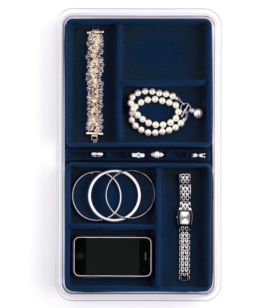 Six Compartment Jewelry Organizer In Jewelry Trays